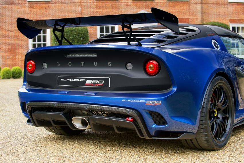 Lotus Exige Cup 380 – 53 kg lighter, limited to 60 units Image #649680