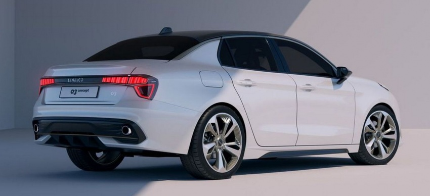 Lynk & Co 03 sedan concept to make Shanghai debut – to feature Volvo engines, hybrid technology Image #646392