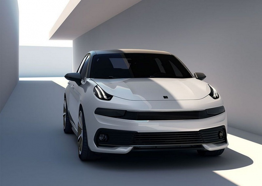 Lynk & Co 03 sedan concept to make Shanghai debut – to feature Volvo engines, hybrid technology Image #646385