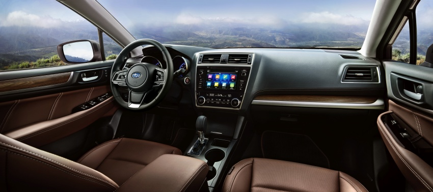 2018 Subaru Outback facelift gets Legacy's upgrades Image #641889