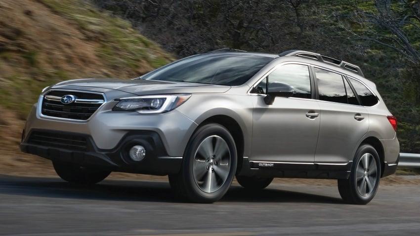2018 Subaru Outback facelift gets Legacy's upgrades Image #641892