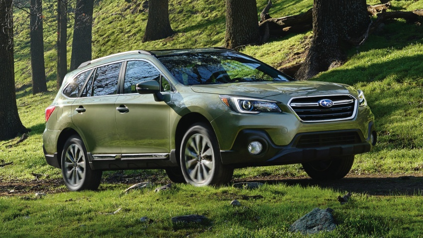 2018 Subaru Outback facelift gets Legacy's upgrades Image #641910