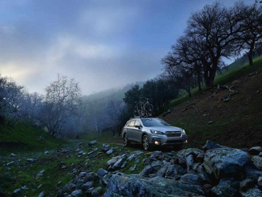 2018 Subaru Outback facelift gets Legacy's upgrades Image #641872