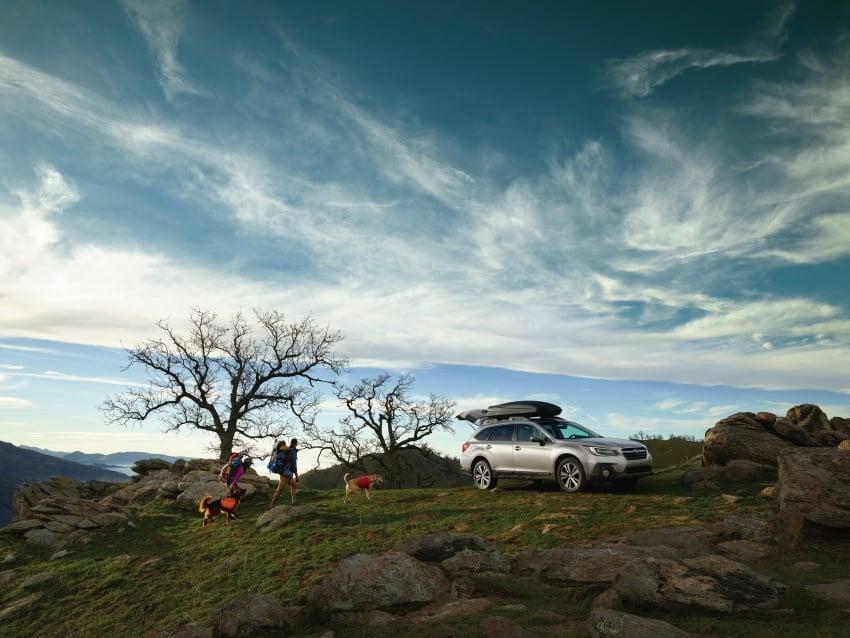 2018 Subaru Outback facelift gets Legacy's upgrades Image #641876