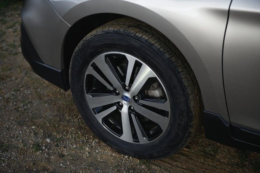 2018 Subaru Outback facelift gets Legacy's upgrades Image #641879