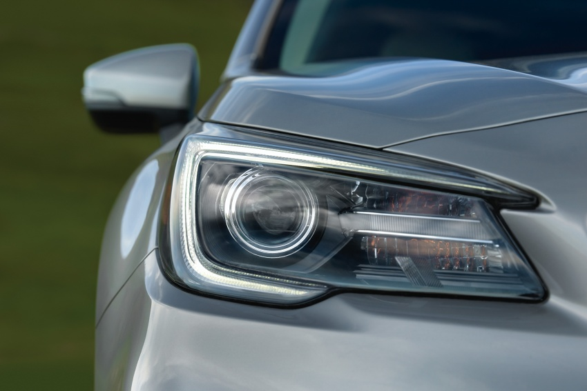 2018 Subaru Outback facelift gets Legacy's upgrades Image #641881
