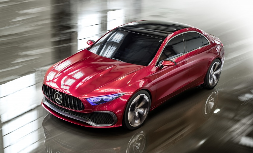 Mercedes-Benz Concept A Sedan officially revealed Image #647182