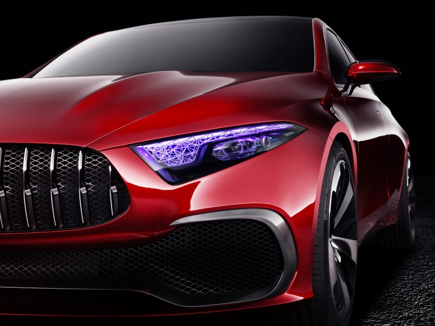 Mercedes-Benz Concept A Sedan officially revealed Image #647203