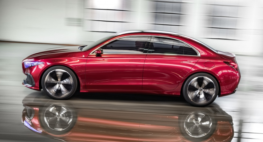 Mercedes-Benz Concept A Sedan officially revealed Image #647184