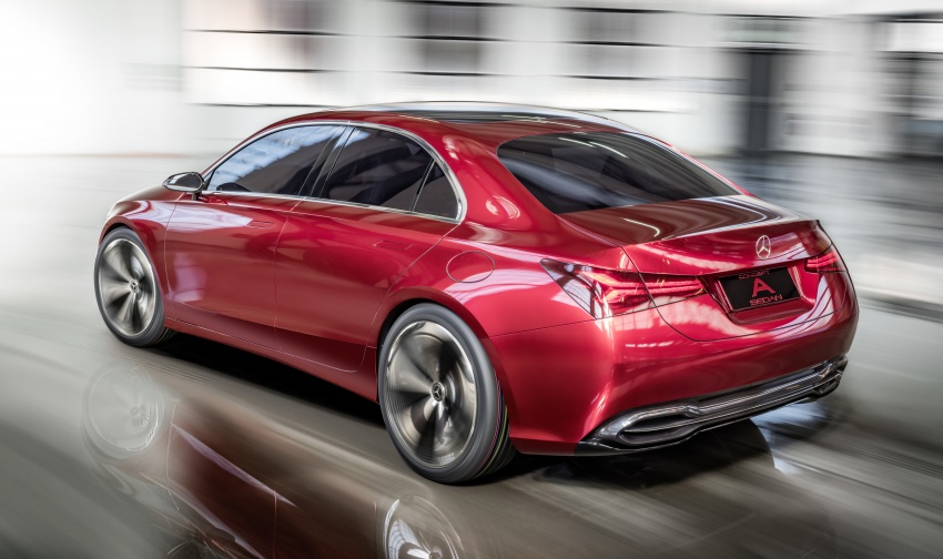 Mercedes-Benz Concept A Sedan officially revealed Image #647185