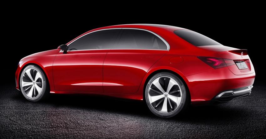 Mercedes-Benz Concept A Sedan diperkenalkan Image #647502