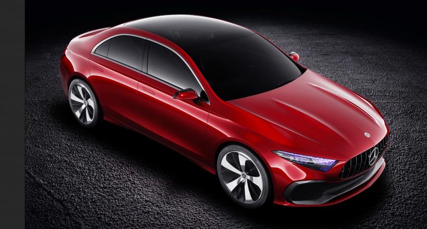 Mercedes-Benz Concept A Sedan diperkenalkan Image #647500