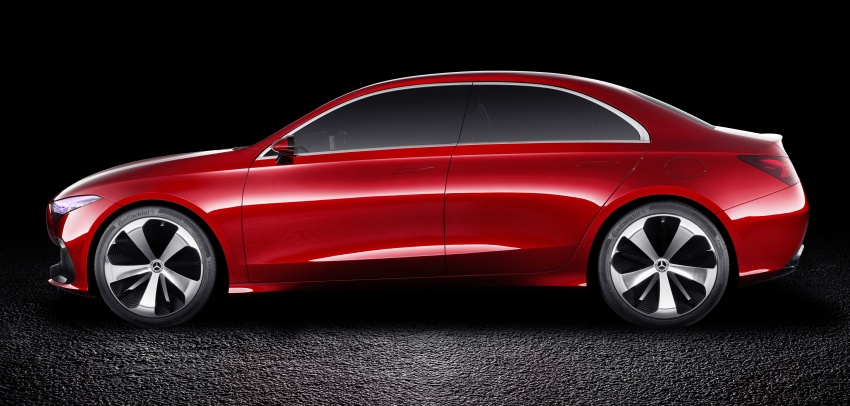 Mercedes-Benz Concept A Sedan officially revealed Image #647189