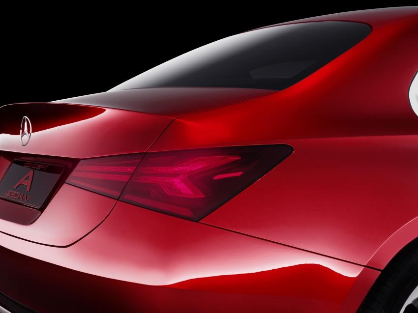 Mercedes-Benz Concept A Sedan diperkenalkan Image #647498