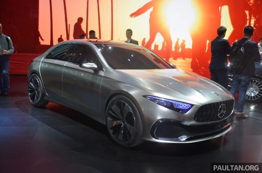 GALLERY: Mercedes-Benz Concept A Sedan up close Image #649299