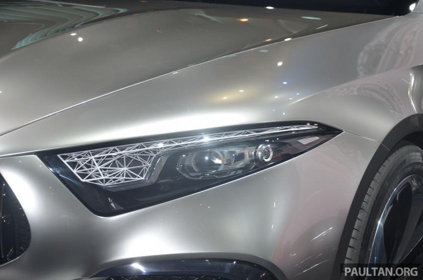 GALLERY: Mercedes-Benz Concept A Sedan up close Image #649308