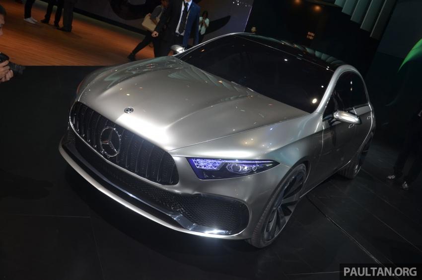 GALLERY: Mercedes-Benz Concept A Sedan up close Image #649310