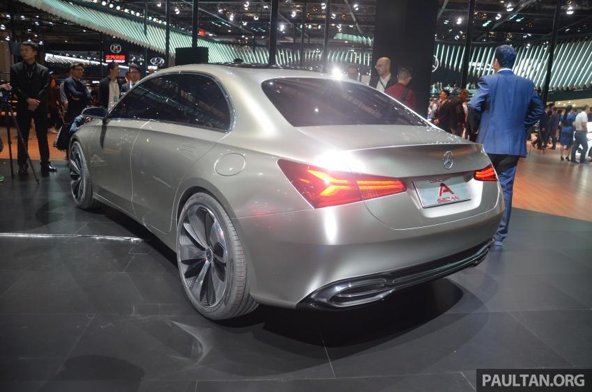 GALLERY: Mercedes-Benz Concept A Sedan up close Image #649312