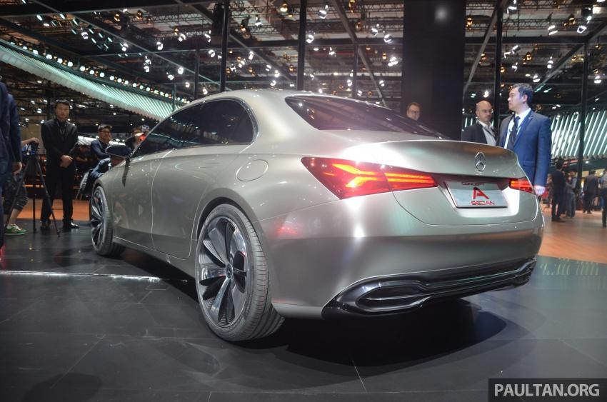 GALLERY: Mercedes-Benz Concept A Sedan up close Image #649313