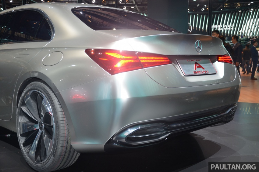 GALLERY: Mercedes-Benz Concept A Sedan up close Image #649314
