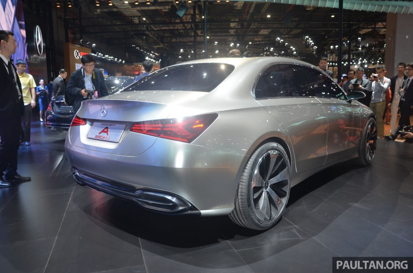 GALLERY: Mercedes-Benz Concept A Sedan up close Image #649315