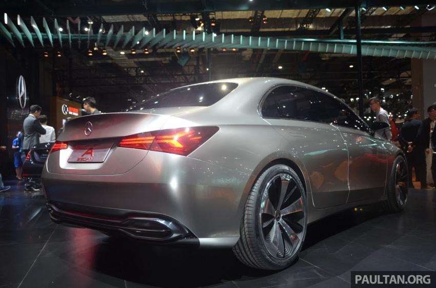 GALLERY: Mercedes-Benz Concept A Sedan up close Image #649316