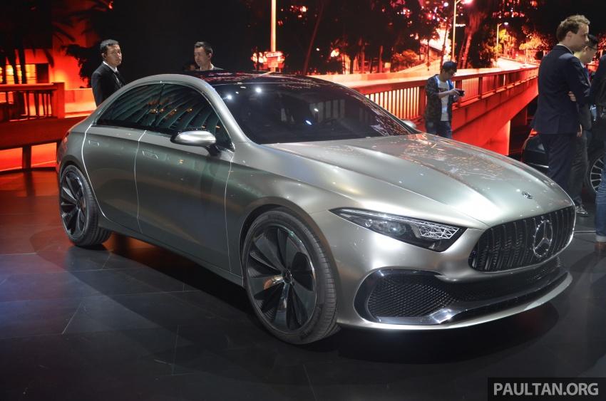 GALLERY: Mercedes-Benz Concept A Sedan up close Image #649300