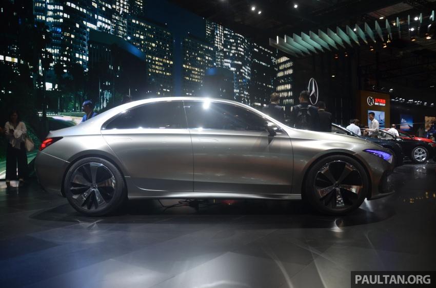 GALLERY: Mercedes-Benz Concept A Sedan up close Image #649318