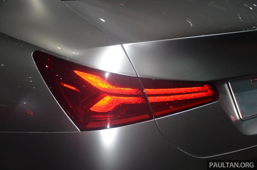 GALLERY: Mercedes-Benz Concept A Sedan up close Image #649320