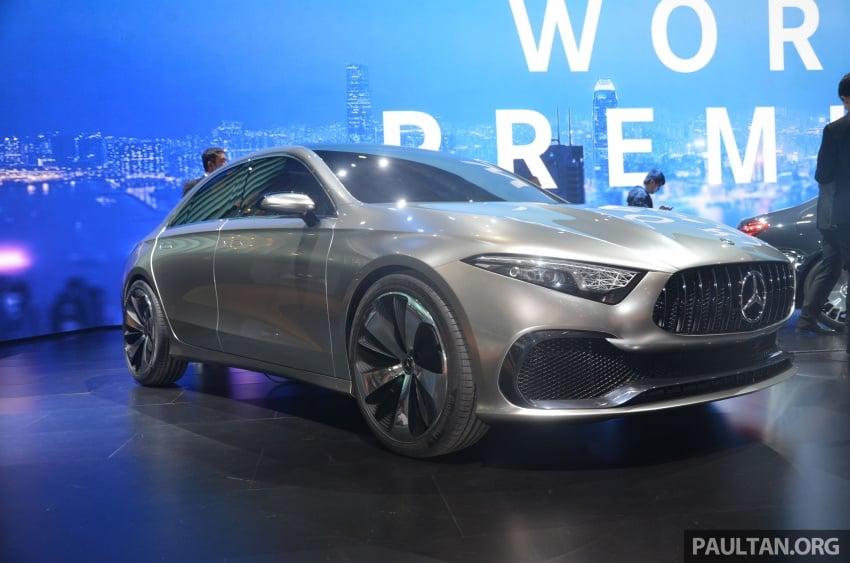 GALLERY: Mercedes-Benz Concept A Sedan up close Image #649301