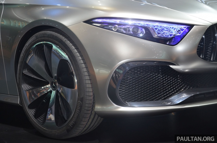 GALLERY: Mercedes-Benz Concept A Sedan up close Image #649304