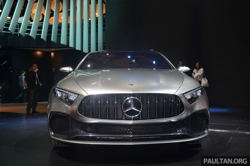 GALLERY: Mercedes-Benz Concept A Sedan up close Image #649305