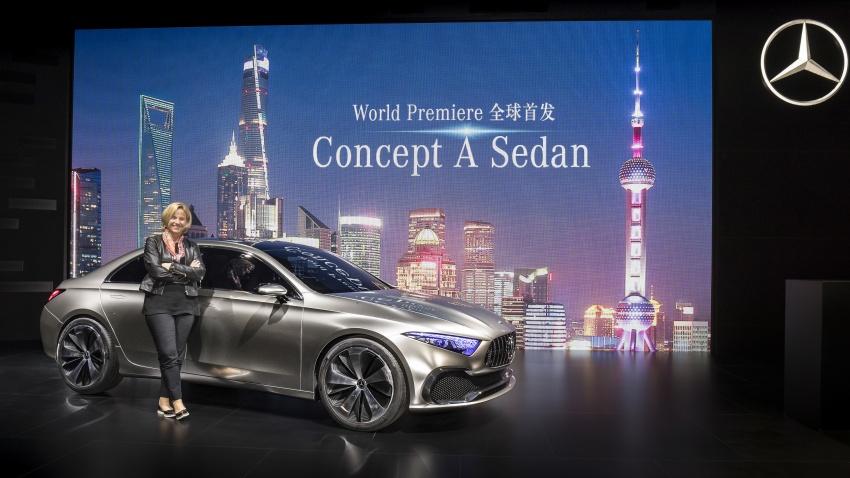 Mercedes-Benz Concept A Sedan diperkenalkan Image #647484