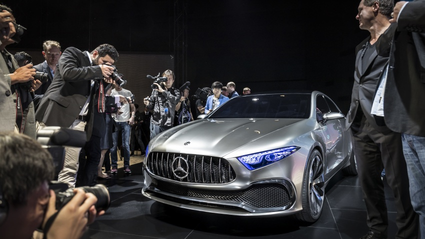 Mercedes-Benz Concept A Sedan officially revealed Image #647353