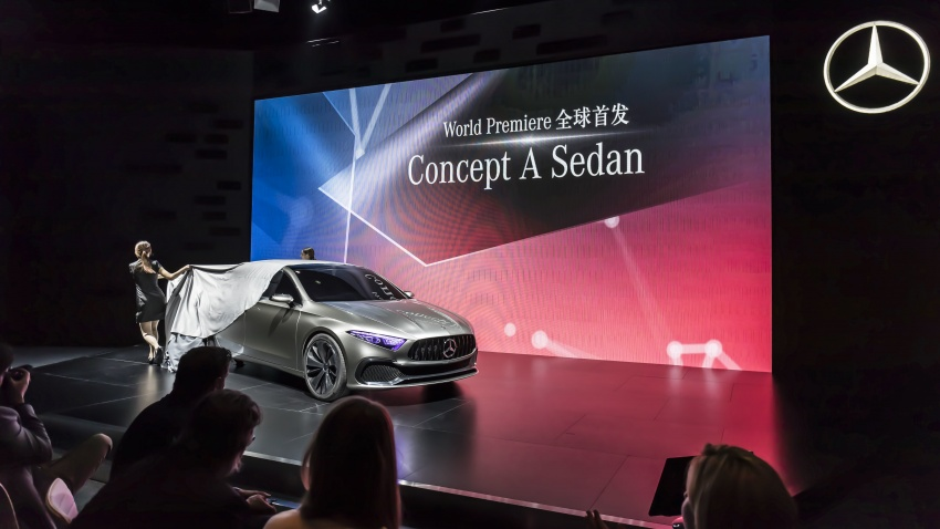 Mercedes-Benz Concept A Sedan officially revealed Image #647354