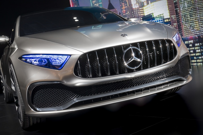 Mercedes-Benz Concept A Sedan officially revealed Image #647347