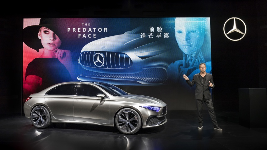 Mercedes-Benz Concept A Sedan officially revealed Image #647349