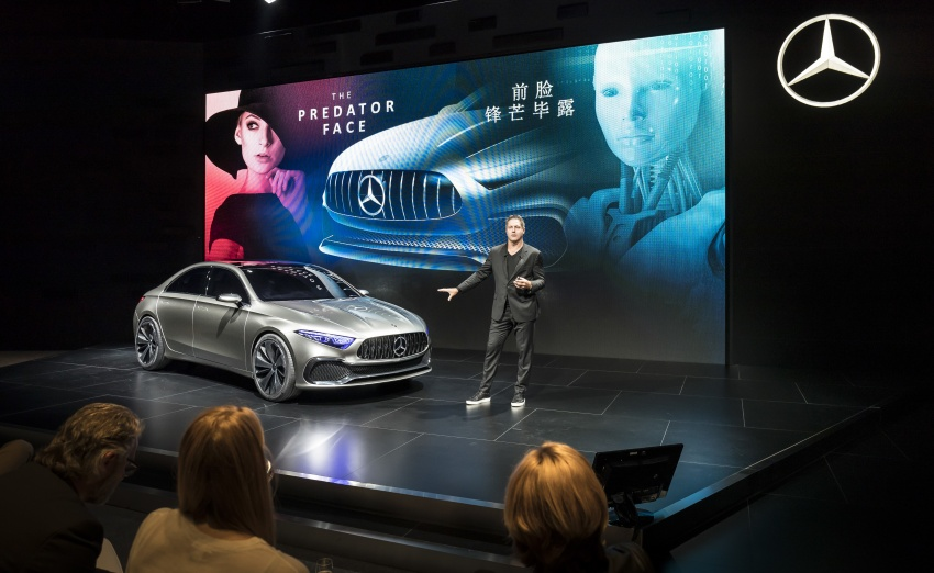 Mercedes-Benz Concept A Sedan officially revealed Image #647350