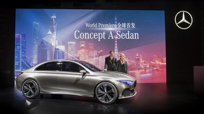 Mercedes-Benz Concept A Sedan diperkenalkan Image #647486