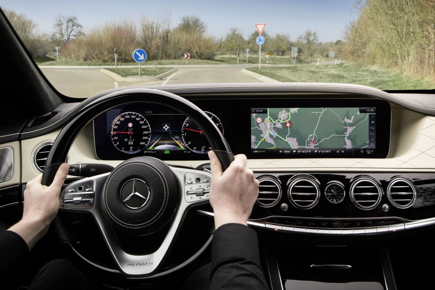 W222 Mercedes-Benz S-Class facelift debuts – new engines, enhanced styling, additional technologies Image #647402