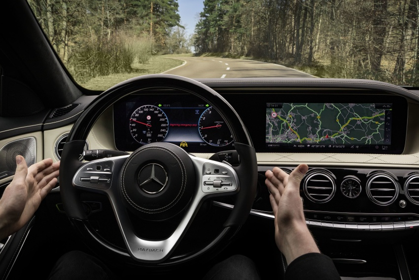 W222 Mercedes-Benz S-Class facelift debuts – new engines, enhanced styling, additional technologies Image #647411