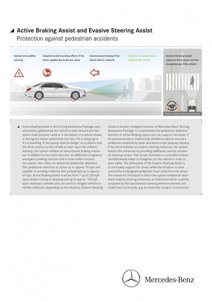 W222 Mercedes-Benz S-Class facelift diperkenalkan – enjin baharu, imej dipertingkat, teknologi ditambah Image #647845