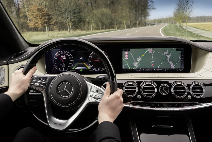 W222 Mercedes-Benz S-Class facelift debuts – new engines, enhanced styling, additional technologies Image #647403