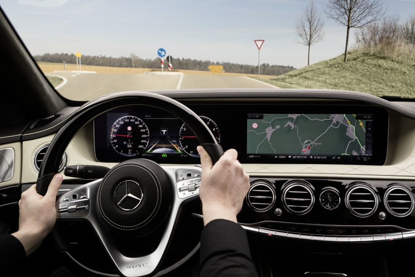 W222 Mercedes-Benz S-Class facelift debuts – new engines, enhanced styling, additional technologies Image #647404