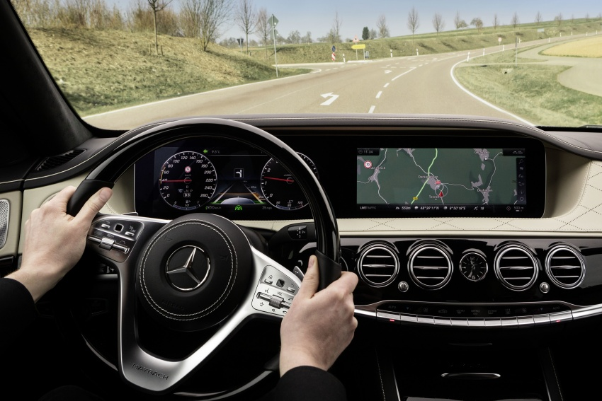 W222 Mercedes-Benz S-Class facelift debuts – new engines, enhanced styling, additional technologies Image #647405