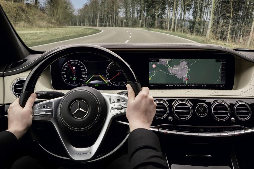 W222 Mercedes-Benz S-Class facelift diperkenalkan – enjin baharu, imej dipertingkat, teknologi ditambah Image #647832