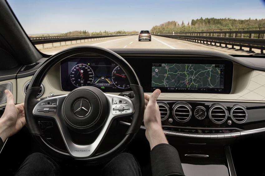 W222 Mercedes-Benz S-Class facelift diperkenalkan – enjin baharu, imej dipertingkat, teknologi ditambah Image #647833