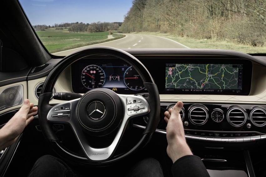 W222 Mercedes-Benz S-Class facelift diperkenalkan – enjin baharu, imej dipertingkat, teknologi ditambah Image #647835