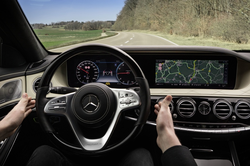 W222 Mercedes-Benz S-Class facelift debuts – new engines, enhanced styling, additional technologies Image #647409