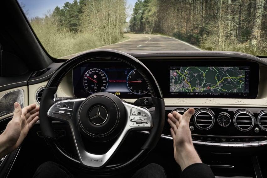 W222 Mercedes-Benz S-Class facelift diperkenalkan – enjin baharu, imej dipertingkat, teknologi ditambah Image #647836